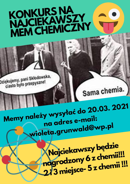 Konkurs chemiczny mem